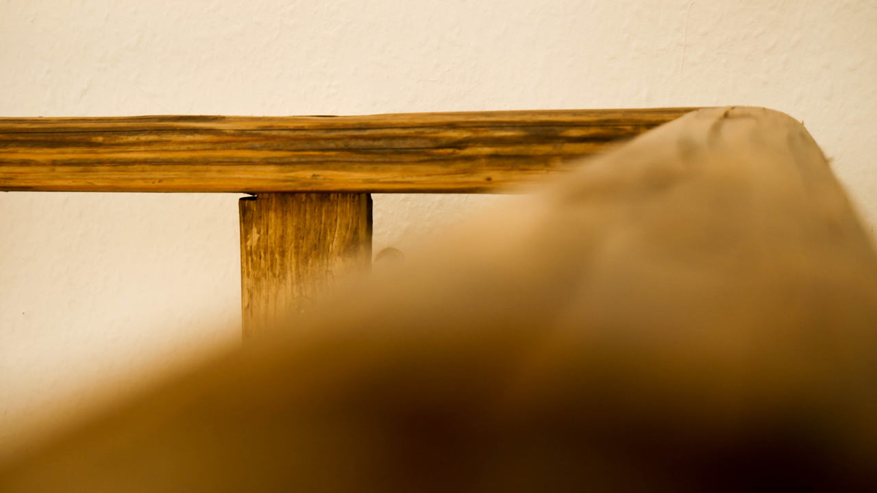 b cherregal regal aus alter leiter made by myself dein diy heimwerker blog. Black Bedroom Furniture Sets. Home Design Ideas