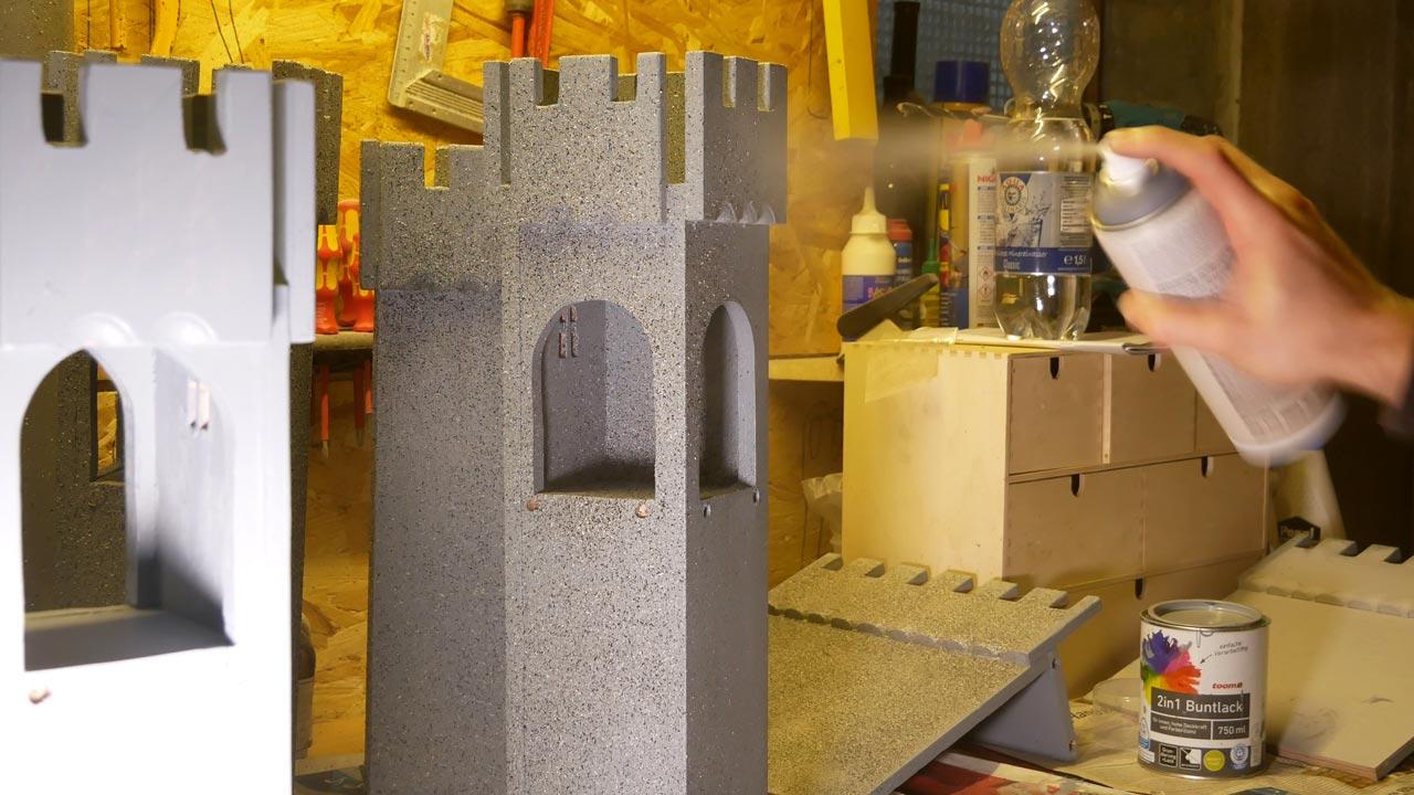 ritterburg aus holz selber bauen made by myself dein diy heimwerker blog. Black Bedroom Furniture Sets. Home Design Ideas