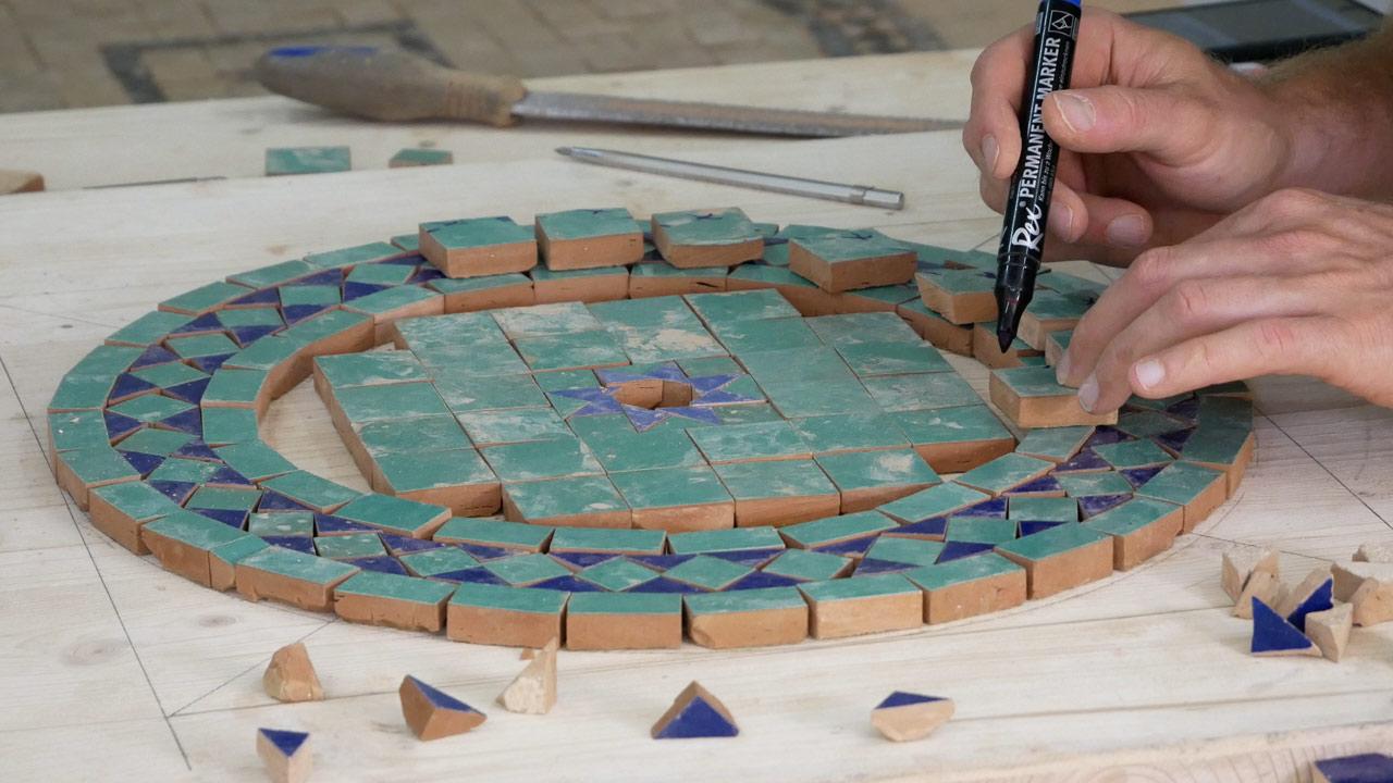 Mosaiktisch Tisch Aus Mosaik Selber Machen Made By Myself Dein