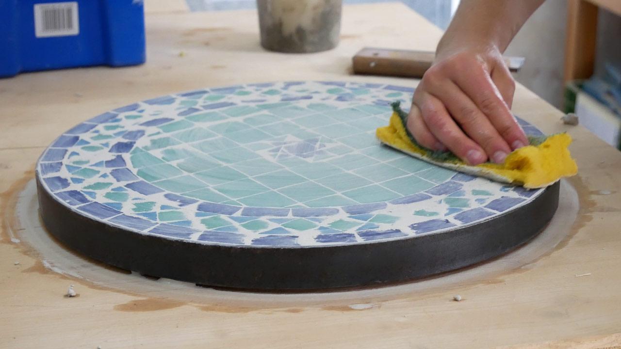 mosaiktisch - tisch aus mosaik selber machen - made by myself - dein