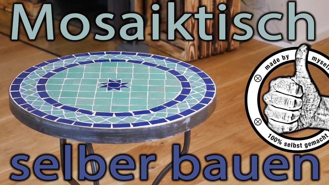 Tisch aus Mosaik Mosaiktisch