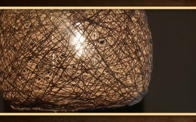 DIY Fadenlampe – Lampenschirm selber machen