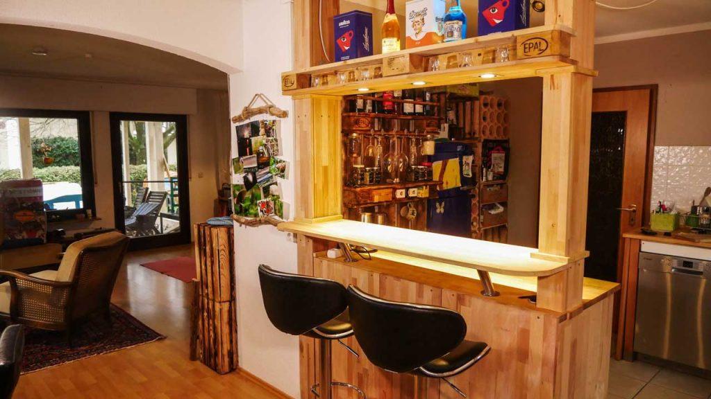 Häufig Theke, Bar selber bauen - Made by myself - Dein DIY Heimwerker Blog HE41