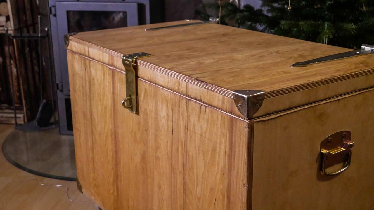 Fabulous Holzkiste - Truhe selber bauen - Made by myself - Dein DIY YR82
