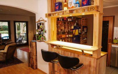 Theke, Bar selber bauen
