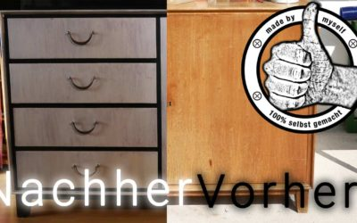Möbel lackieren – Shabby Shic Upcycling