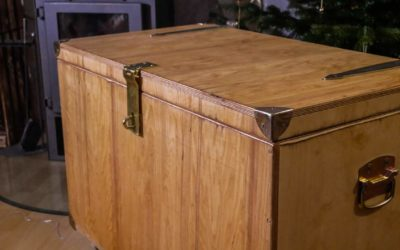 Holzkiste – Truhe selber bauen