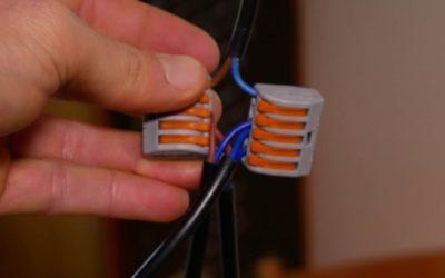 Lampe anschließen – ein Kabel, mehrere Lampen verkabeln