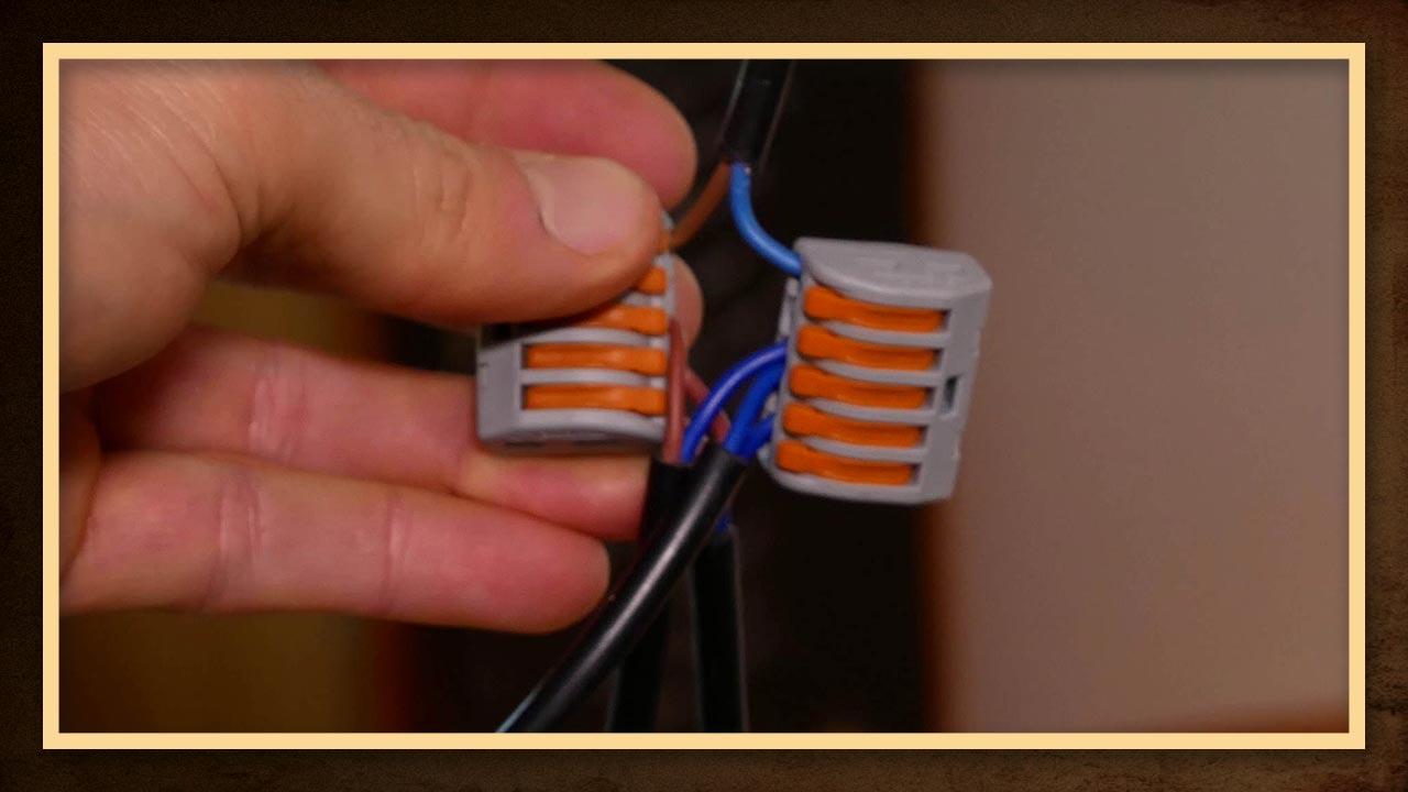 Lampe Anschliessen Ein Kabel Mehrere Lampen Verkabeln Made By Myself