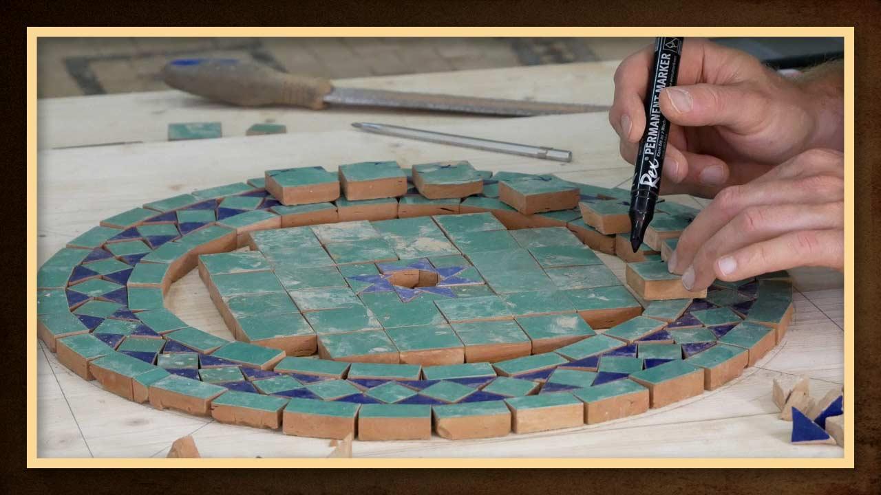 35 Wunderbar Mosaik Vorlagen Tisch Bilder