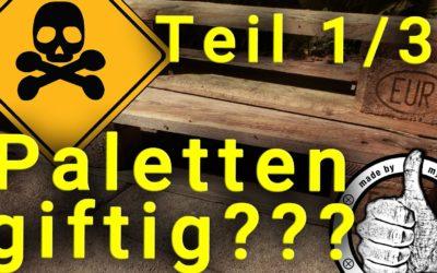 Europaletten Upcycling – Palettenmöbel gesundheitsschädlich?