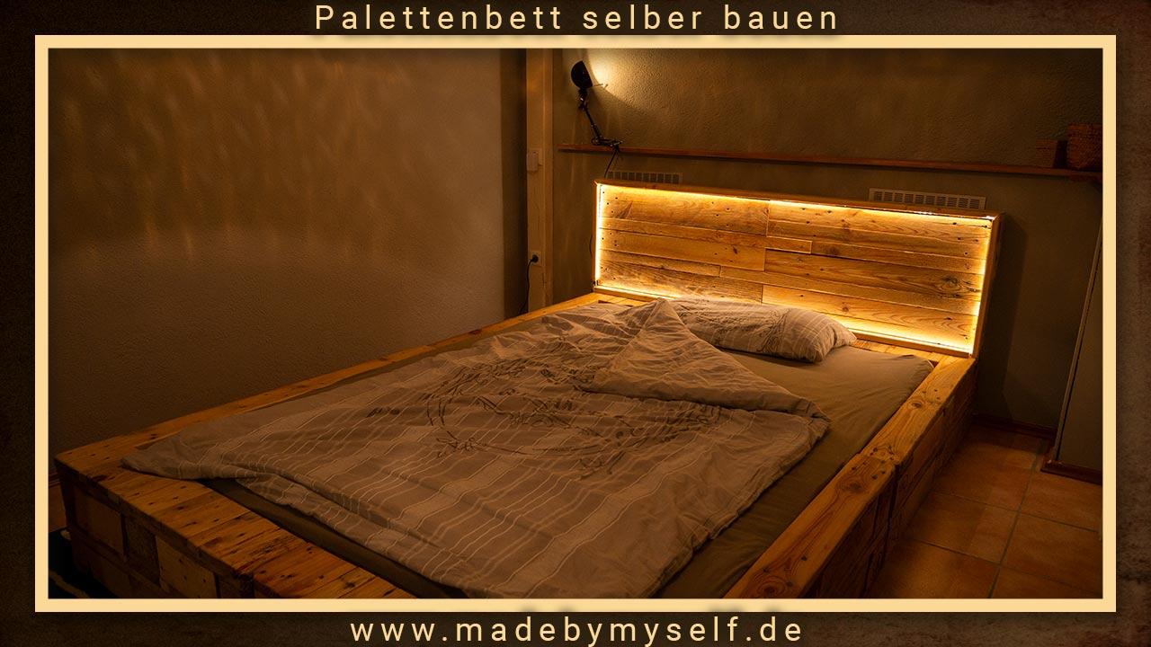 Das fertige Bett ist nicht nur praktisch, sondern auch ein echter Hingucker