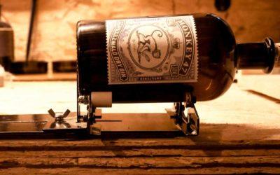 Flasche (Glas) schneiden, trennen
