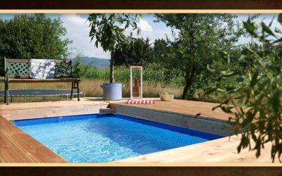 Pool selber bauen – Swimming Pool mit Terrasse